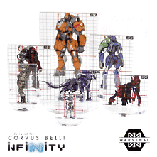 Infinity Full Color Silhouette Templates