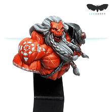 Daturazi Witch Soldier Bust