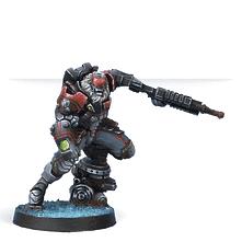 Raktorak, Morat Major Sergeant (Vulkan Shotgun)