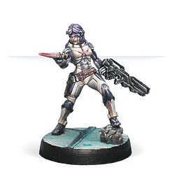 Myrmidon Officer (Combi Rifle, Boarding Shotgun)