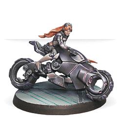 Penthesilea, Amazon Warrioress (Monofilament CCW)