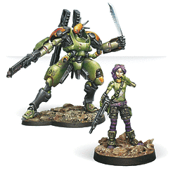 Scarface and Cordelia, Mercenary Armored Team
