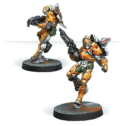 Tiger Soldiers (Spitfire/ Boarding Shotgun)