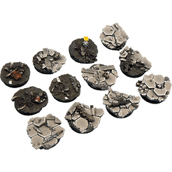 Urban Fight Bases, Round 25mm