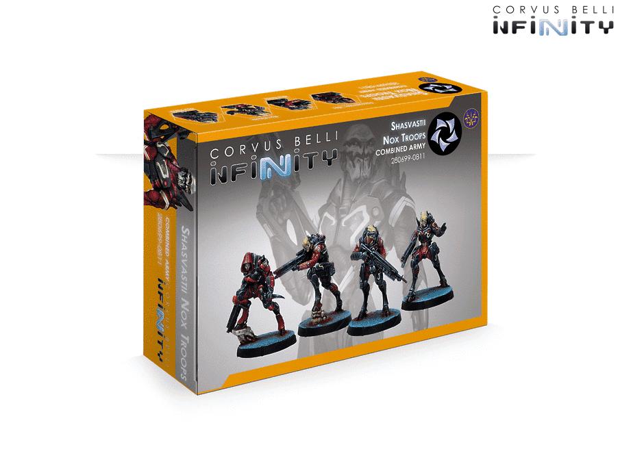 OEJ ~ Infinity ~ Combined Army ~ Shasvastii Nox Troops~ CVB 280699-0811