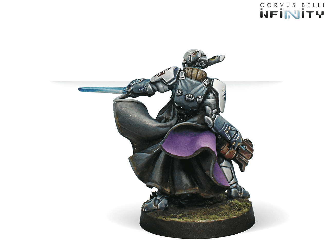 Infinity Corvus Belli Knight of the Holy Sepulchre Spitfire