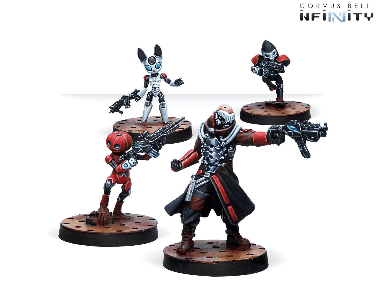 Infinity Corvus Belli Puppetactica Company Nomads box new